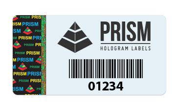Hologram Barcode Label
